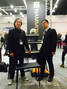 Meeting with Hammond-Suzuki R&D at Frankfurt Musikmesse 2015