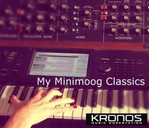 Kronos My Minimoog Classics Cover
